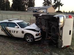 Rainier Man Who Rammed Deputys Car While Eluding Police Arrested