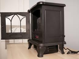 duraflame carleton electric stove side