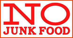 Image result for no junk food