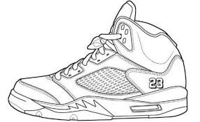 Small Picture Jordan Coloring Pages Shoes for Property Cool Coloring Pages and
