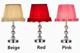2018 modern high grade crystal lamp shade romantic roses side table lamp stylish bedroom desk lights lighting from alluring 94 35 dhgate com