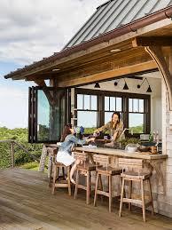 beach bar ideas beach cottage. Kitchen And Deck Window. Pass-through To Blur The Line Between Beach Bar Ideas Cottage