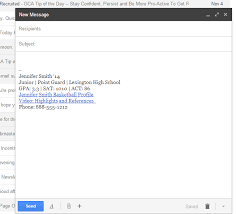 how to create online signature emailing coaches how to create an email signature in gmail
