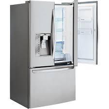 lg french door refrigerator freezer. ft. door-in-door refrigerator - stainless lg french door freezer