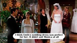 monica geller wedding dress. monica geller wedding dress
