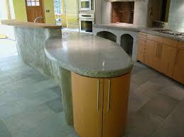peninsula countertop kitchen island