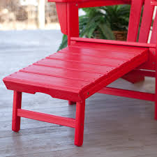 POLYWOODreg Recycled Plastic Big Daddy Adirondack Chair with Pull
