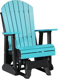 adirondack style glider chair