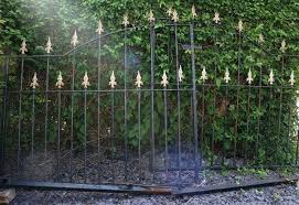 pair of large wrought iron garden gates in wirral merseyside gumtree iron garden gates iron garden wrought iron garden gates