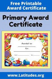 Kids Award Certificate 58 Best Award Certificates For Kids Images Award Certificates