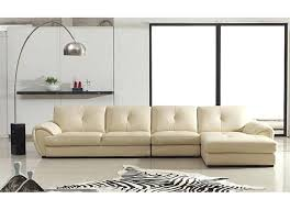 cream leather sectional sofa cream leather sectional sofa modern 3 pieced furniture set