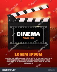 Movie Flyer Movie Poster Flyer Template Online Cinema Stock Vector 24 11