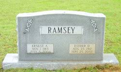 Ernest Alonzo Ramsey (1913-2004) - Find A Grave Memorial