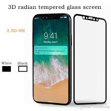 for iphone 8 iphone x 3d full cover color tempered glass soft edge screen protector tempered screen protector best screen protectors from worldfirst88