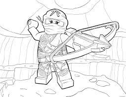 Coloriage Lego Ninjago Skylor In Zukin Gi Jecolorie Com