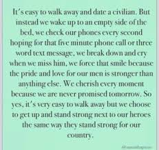 Army. Military. Military Spouse. Love. Deployment quotes. Quotes ... via Relatably.com