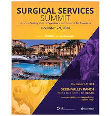 Surgical Services Summit Brochure — Bobbi Lachance