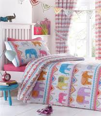 girls kids bedding pink duvet sets unicorns horses