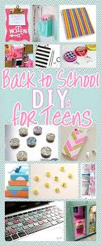 diy back to school projects for teens and tweens locker decoration ideas customized school