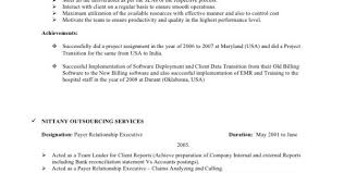 Bpo Resume For Fresher Bpo Resume Resume Template Bpo Resume