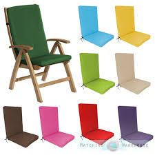 highback garden dining chair cushion pad outdoor furniture high back inside decor 37