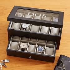 personalized men s accessories at personal creations 20 watch wood box
