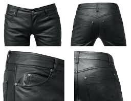 faux leather pants mens the back pocket position somewhat tending a large hip hing type riveted faux leather pants
