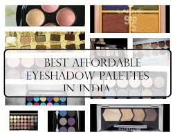 11 best affordable eyeshadow palettes in india