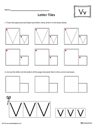 Letter V Templates Letter V Practice Worksheet Myteachingstation Com
