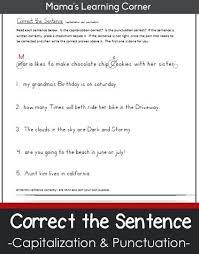 Comma Worksheets 2nd Grade Kenkowoman Info