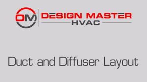 Duct Line Design 1 Layout