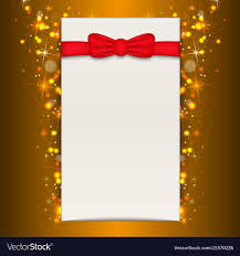 Blank Christmas Background Christmas Background With Blank Sheet Of Paper Vector Image