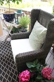 52 outdoor wingback chair somette rattan indoor outdoor sloped arm wingback club chair simplyhaikujournal com