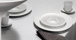 contemporary white porcelain tableware from hering berlin