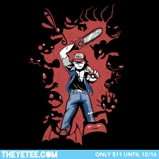 The Yetee Size Chart Pokevil Dead