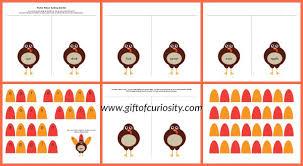 Turkey Feather Spelling Activity