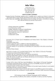 Resume Templates: Exercise Physiologist