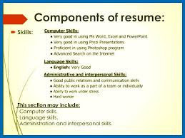 Computer Skills In Resume. 32 Photograph Of Computer Skills Resume ...