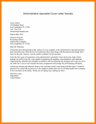13 Cover Letter For Administrative Position Free Ride Cycles