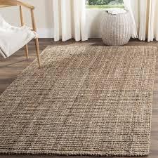 entranching grey jute rug at safavieh casual natural fiber hand woven chunky thick