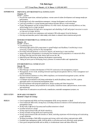 Air Quality Consultant Sample Resume Environmental Consultant Resume Samples Velvet Jobs 21