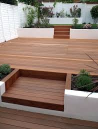 Small Picture 9 best Small decked garden images on Pinterest Gardens Backyard
