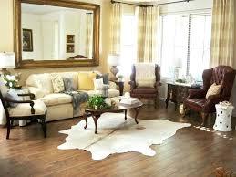 brown cowhide rug living room big cowhide rugs cream rug small cow skin black and white