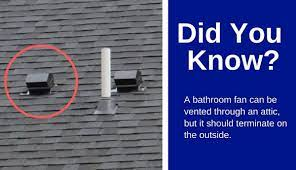 Venting A Bathroom Fan Into An Attic My Detailed Guide Home Inspector Secrets