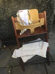 stokke tripp trapp chair babyset harness cushions
