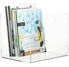 Clear Acrylic Magazine Holder Awesome Clear Acrylic Magazine Rack Or Acrylic Menue Holder With Good