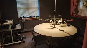 wgls fm has a conference talk studio where public affairs show hosts can conduct round table interviews in person or over the phone