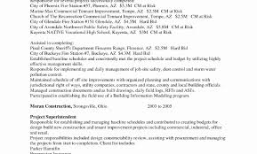 Stunning Building Superintendent Resume Cover Letter Contemporary