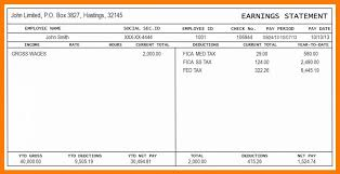 Check Stub Generator Free Template Pay Excel Download Maker