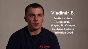 Vladimir B Electronic Systems Technician Grad Wayne Nj Campus Fortis Institutes Colleges